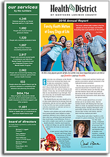 Health District 2016 Annual Report
