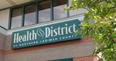 Health District sign