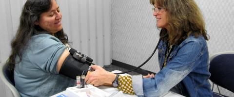 Health District Cholesterol Testing