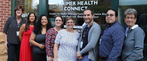 Health District's Larimer Health Connect team