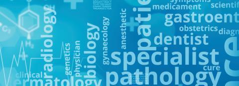 medical terminology word cloud