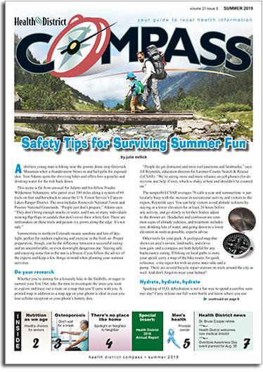 Health District Compass Summer 2019