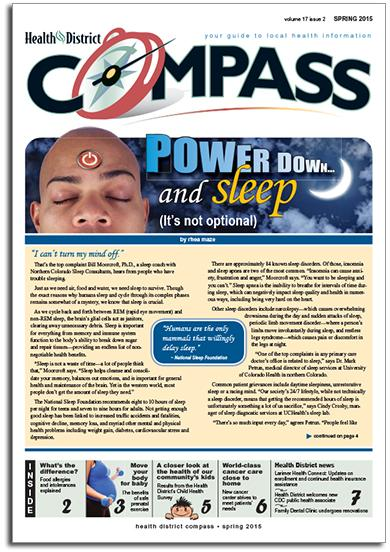 Health District Compass - Spring 2015