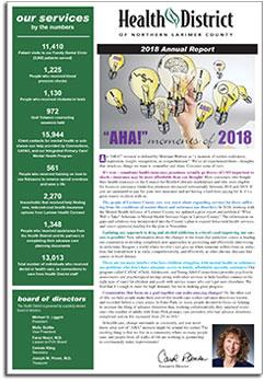 2018 Health District Annual Report