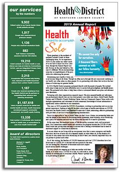2019 Health District Annual Report