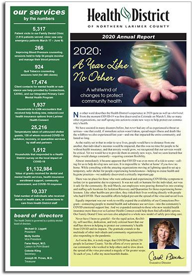 2020 Health District Annual Report