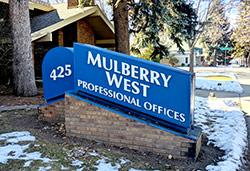 425 Mulberry building sign