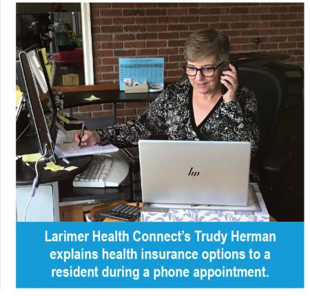 Larimer Health Connect's Trudy Herman explains health insurance options